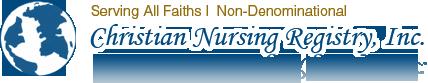 Christian Nursing Registry Inc Logo